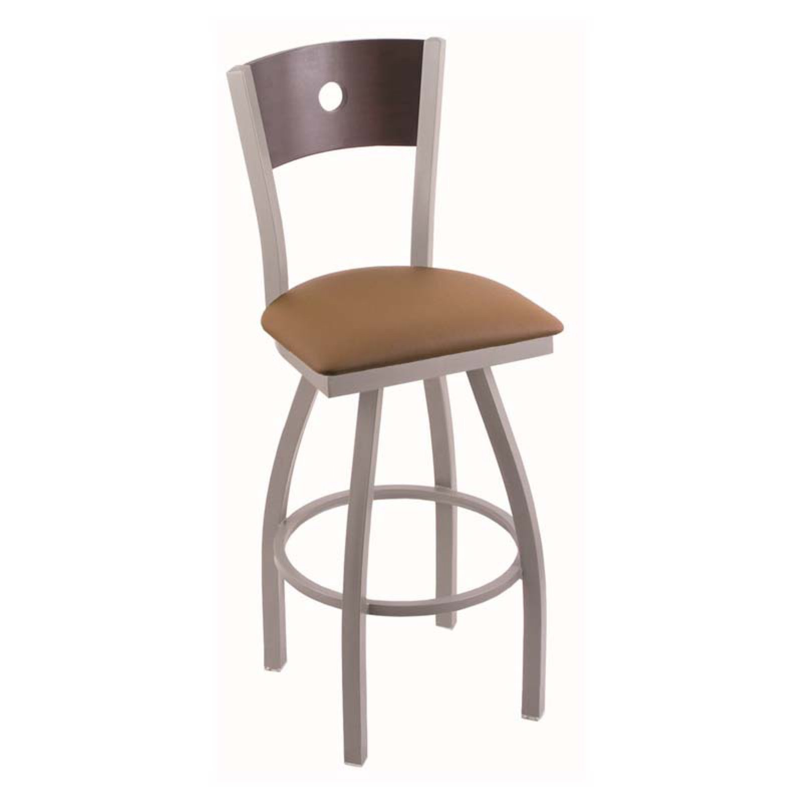 Holland Bar Stool Voltaire 25 in. Swivel Counter Stool wi...