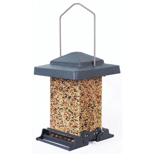 H-F Vista Squirrel Proof Hopper Bird Feeder