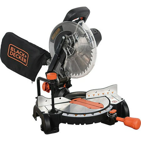 BLACK+DECKER 15 Amp 10-Inch Compound Miter Saw, (Hitachi 10 Inch Sliding Compound Miter Saw)