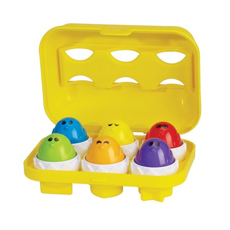 International Playthings Kidoozie Peep 'N' Peep Eggs (Toys In Eggs)