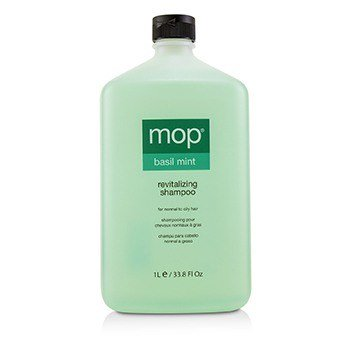 Mop Basil Mint Revitalizing Shampoo (for Normal To Oily Hair)