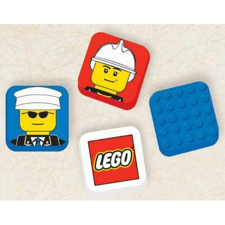 LEGO City Eraser Party Accessory](Party City Brea)