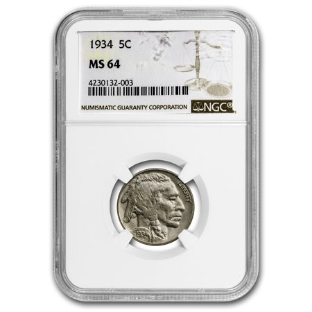 1934 Buffalo (1934 Buffalo Nickel MS-64 NGC )