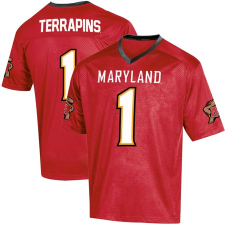 - Toddler Russell Red Maryland Terrapins Replica Football Jersey