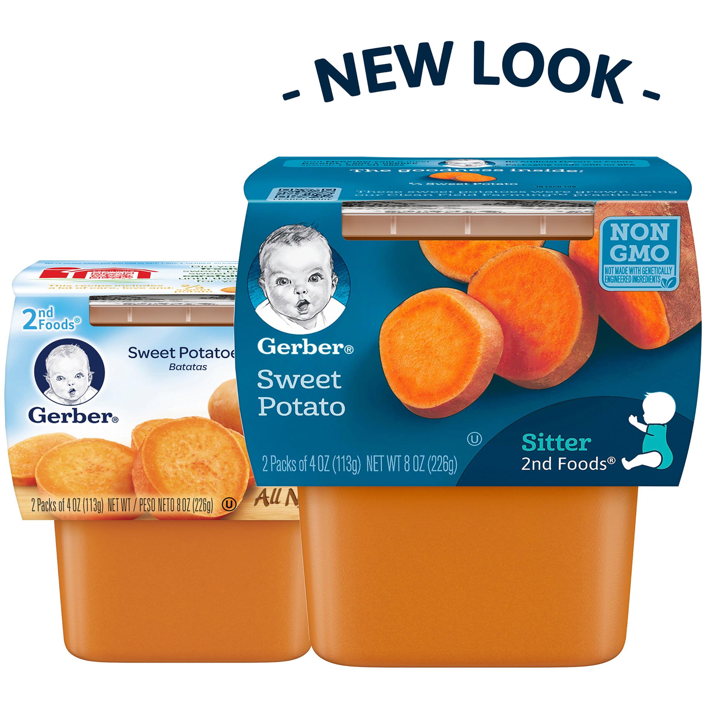 Gerber® 2nd Foods® Sweet Potatoes, 4 oz, 2 count