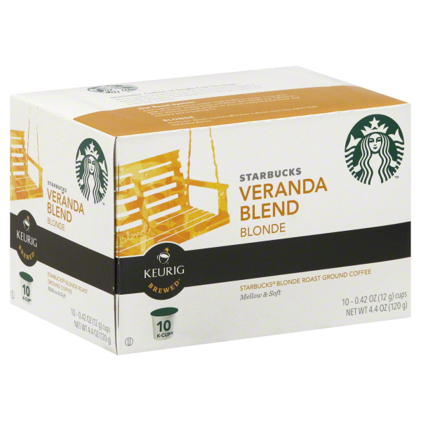Starbucks Coffee Single Serve K-Cup Coffee, 10 CT (Pack of 6)