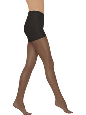 Everyday women's control top sheer pantyhose 3-pair