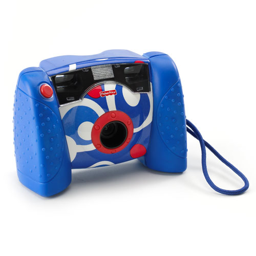 Fisher-Price Kidtronics Digital Camera, Blue