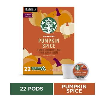 22-Count Starbucks Pumpkin Spice Flavored Light Roast K Cup Coffee Pods