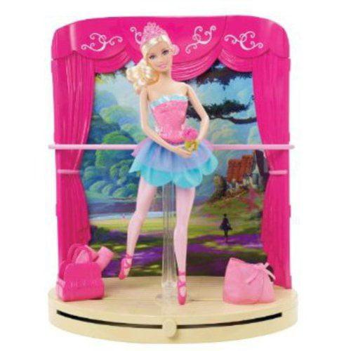 Barbie Pink Shoes Ballet Studio