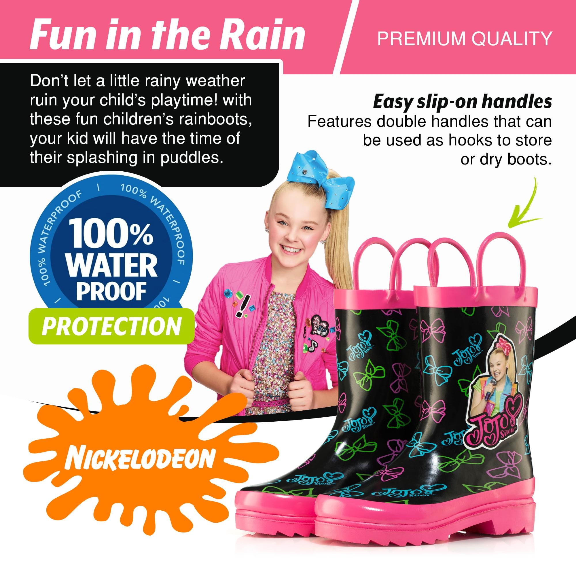 Nickelodeon JoJo Siwa Rain Boots