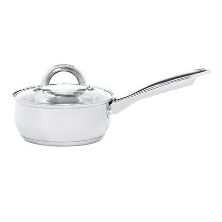 Heim Concept 12 Pieces Professinoal Grade Stainless Steel Cooking Pots and Pans Kitchen Cookware Set Lids