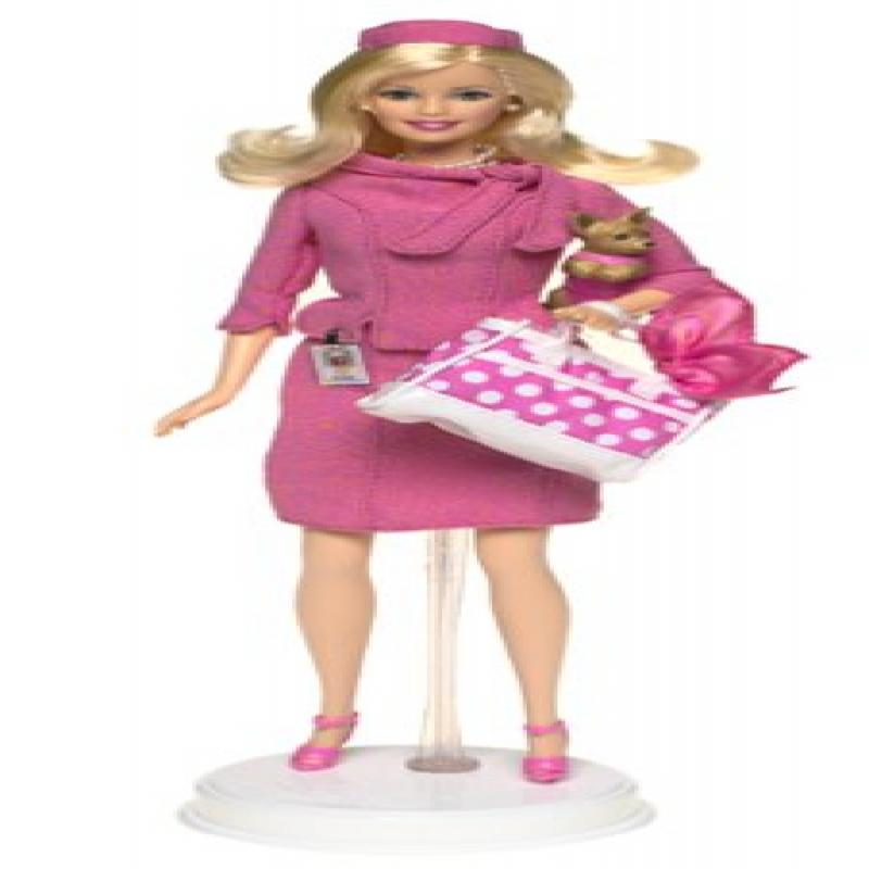 Barbie as Legally Blonde