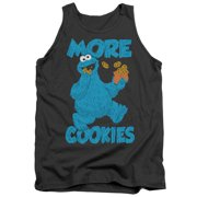 Sesame Street Children's TV Show More Cookies For Monster Adult Tank Top Shirt by
