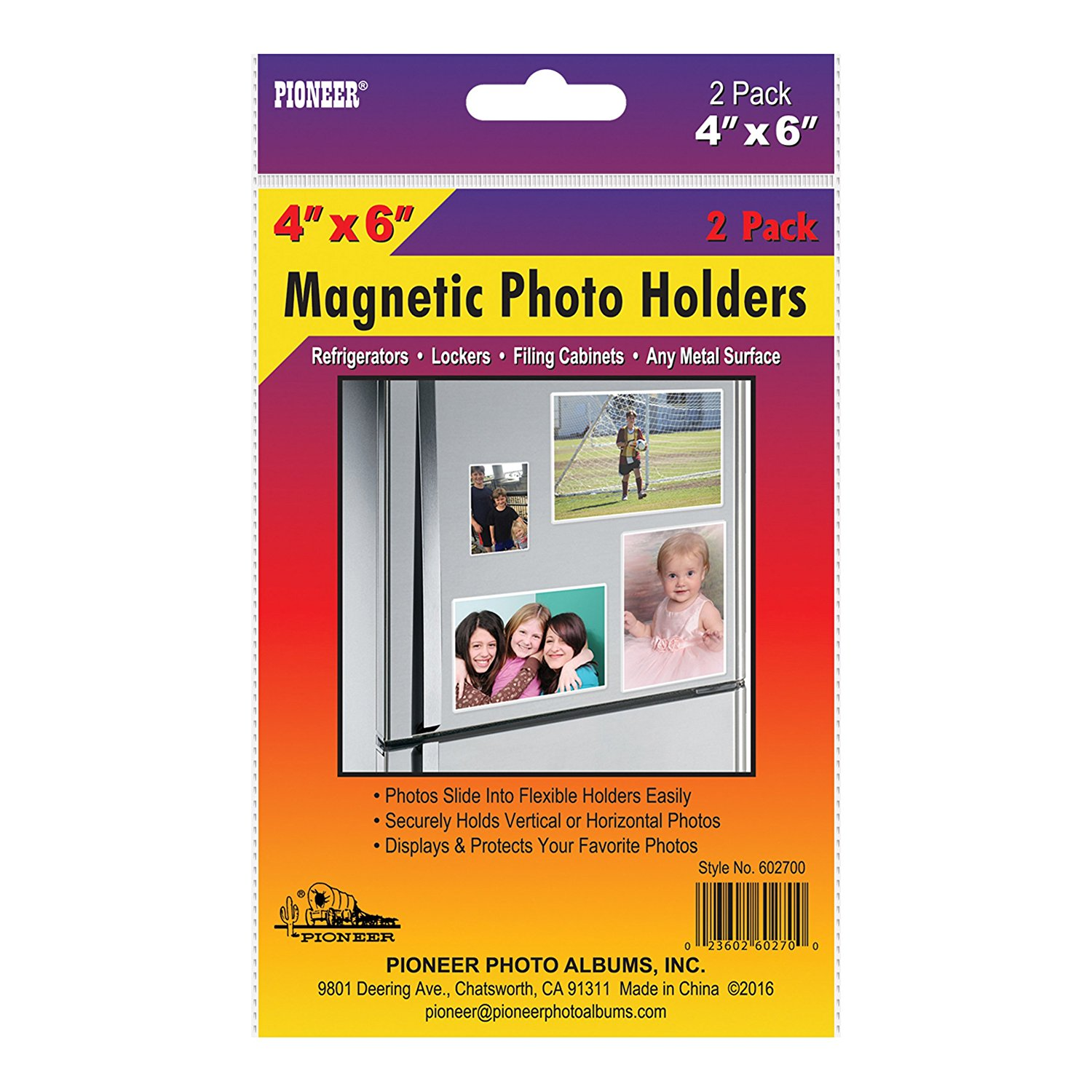 Pioneer 606807 Freez A Frame Photo Albums 5x7 In Magnetic Photo
