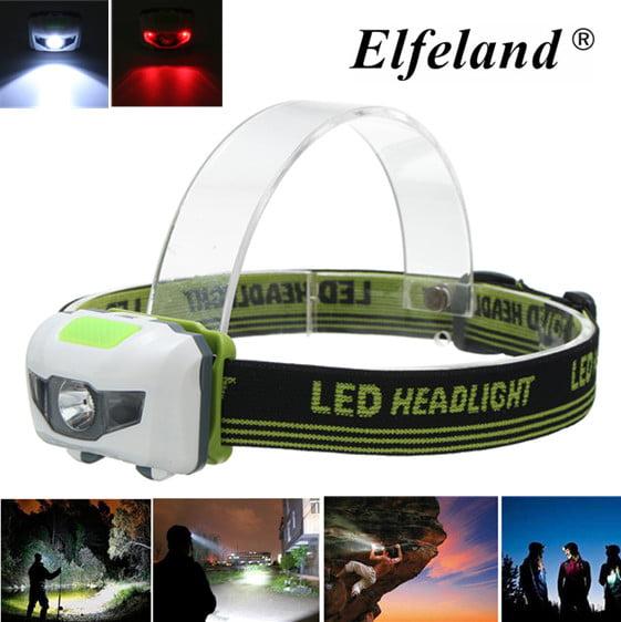 1000 Head Lamp Lumens 3 LED Headlamp Headlight Head Lantern Lamp Press Switch 4 Modes Waterproof