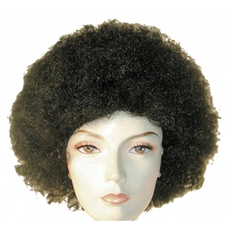 Afro Disc Wig - Royal Blue