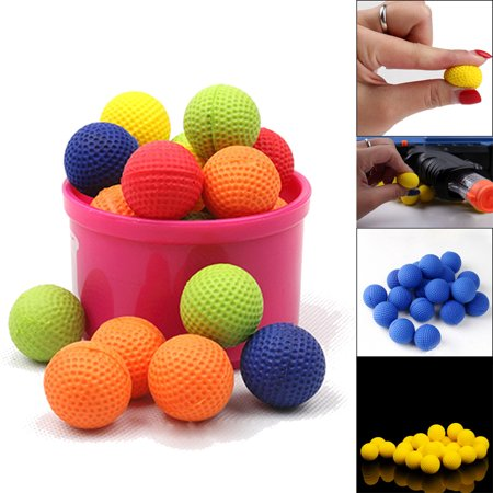 New Fashion 50Pcs Bullet Balls Rounds Compatible For Nerf Rival Apollo Child Toy - 938 Green