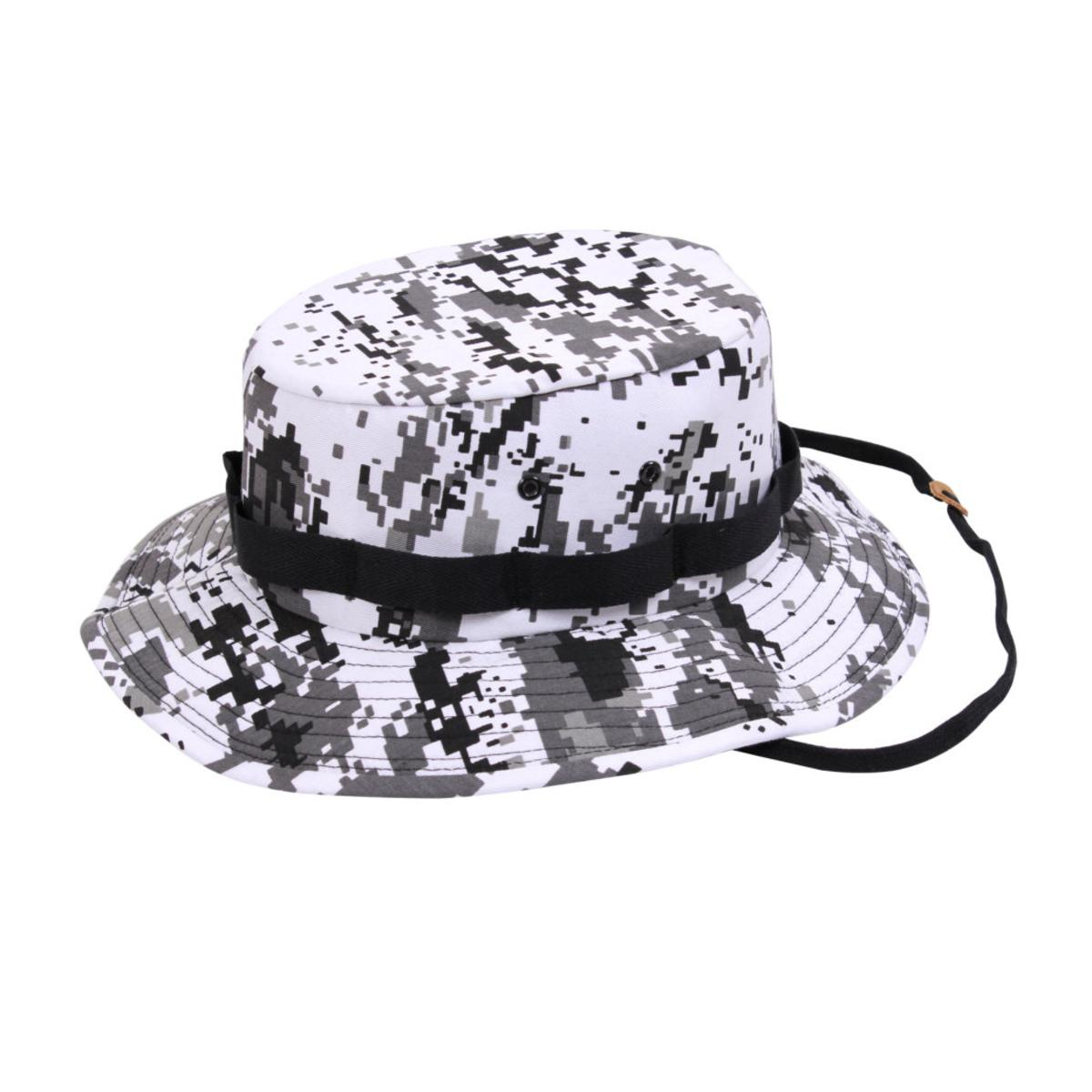 Rothco Military Style Boonie Hat, Jungle/Bucket Hat, City Digital Camo