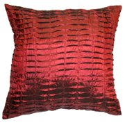 Astoria Grand Bob Silky Pleated Throw Pillow