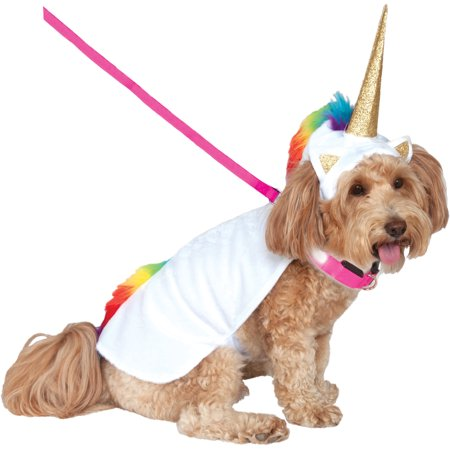 Rubie's Light Up Collar Unicorn Pet Costume-Extra Large](Cute Pet Halloween Costumes)