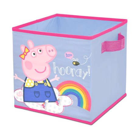 Peppa Pig Collapsible Storage Cube (Peppa Pig Decor)