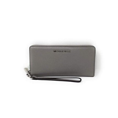 Fabric Continental Wallet - Michael Kors Jet Set Wallet Continental Luggage Ash Grey …