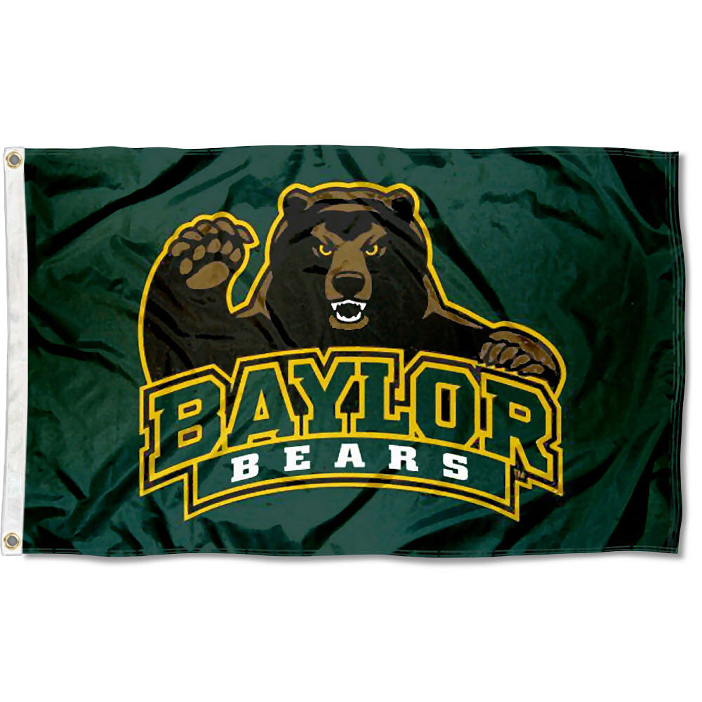Baylor Bears Bear Claw 3' x 5' Pole Flag