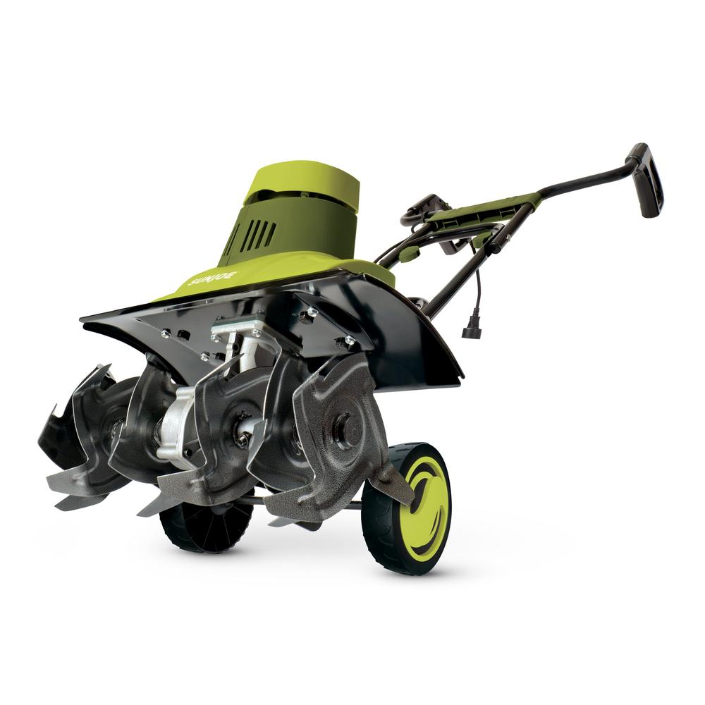 Sun Joe TJ601E Electric Garden Tiller/Cultivator | 18-Inch | 9 Amp
