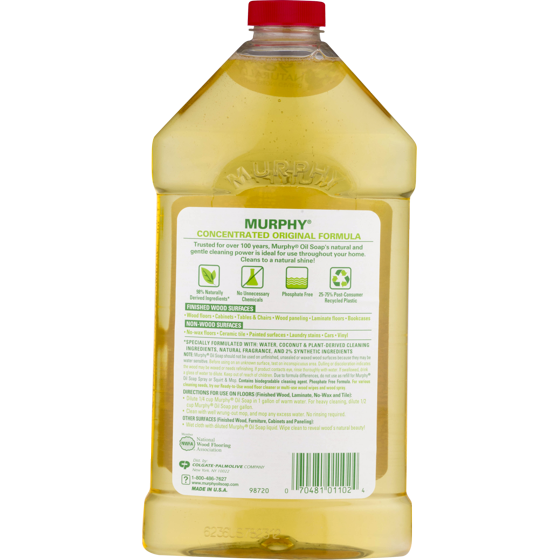 Murphy S Oil Soap Wood Cleaner Original 32 Fl Oz Walmart Com