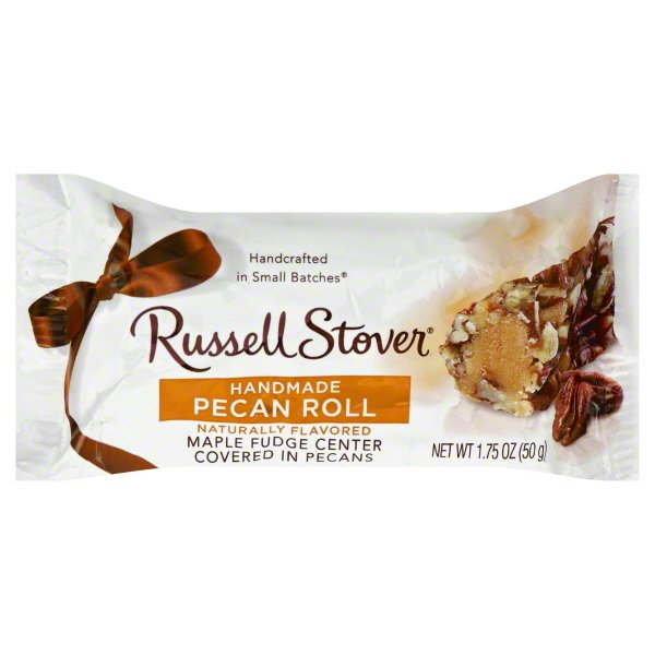 Russell Stover Russell Stover Pecan Roll, 1.75 oz - Walmart.com -  Walmart.com