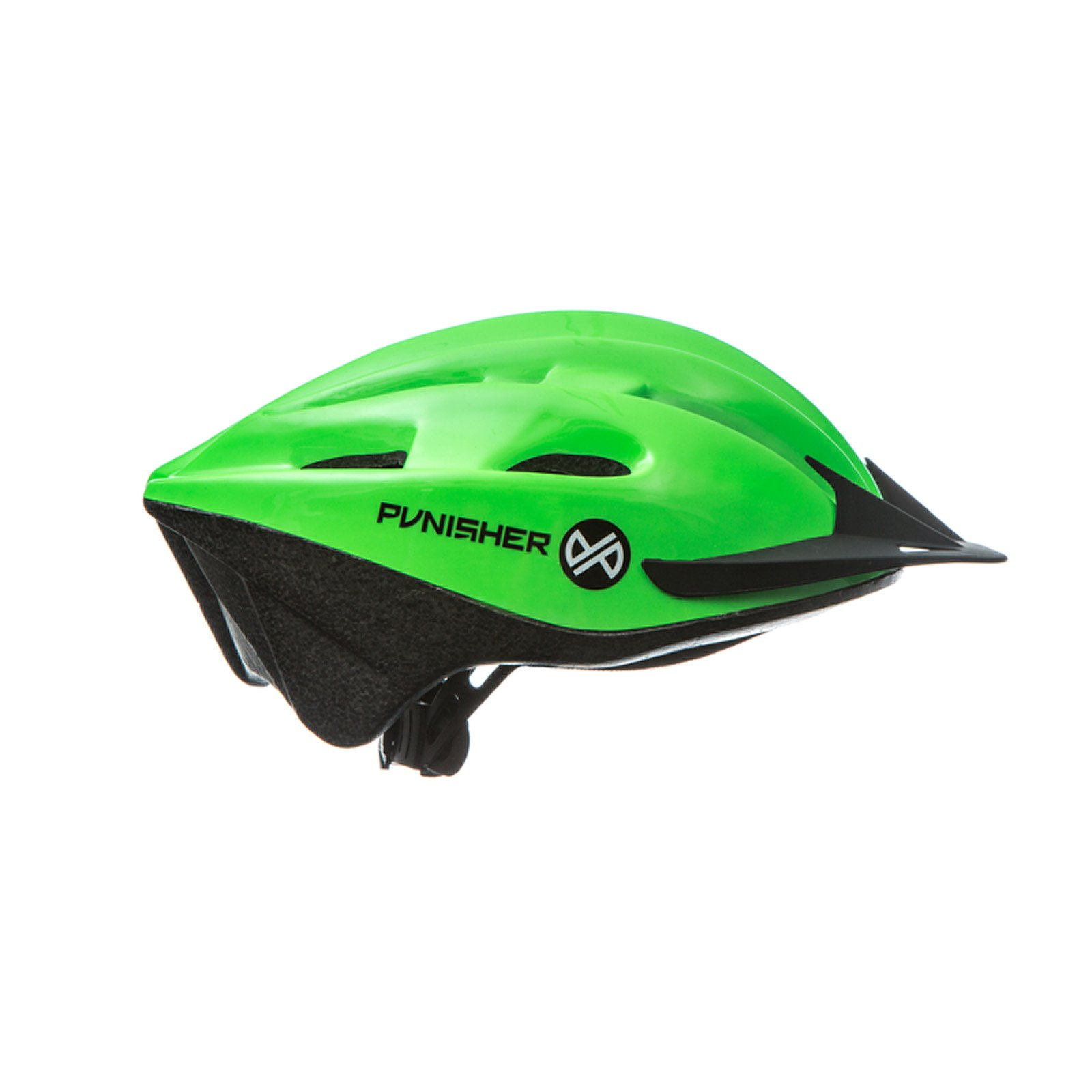 Punisher 18-Vent Adult Cycling Helmet, Lime Green by Punisher Skateboards