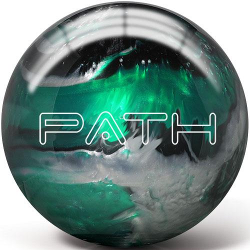 Pyramid Path Emerald/Black/Silver Bowling Ball