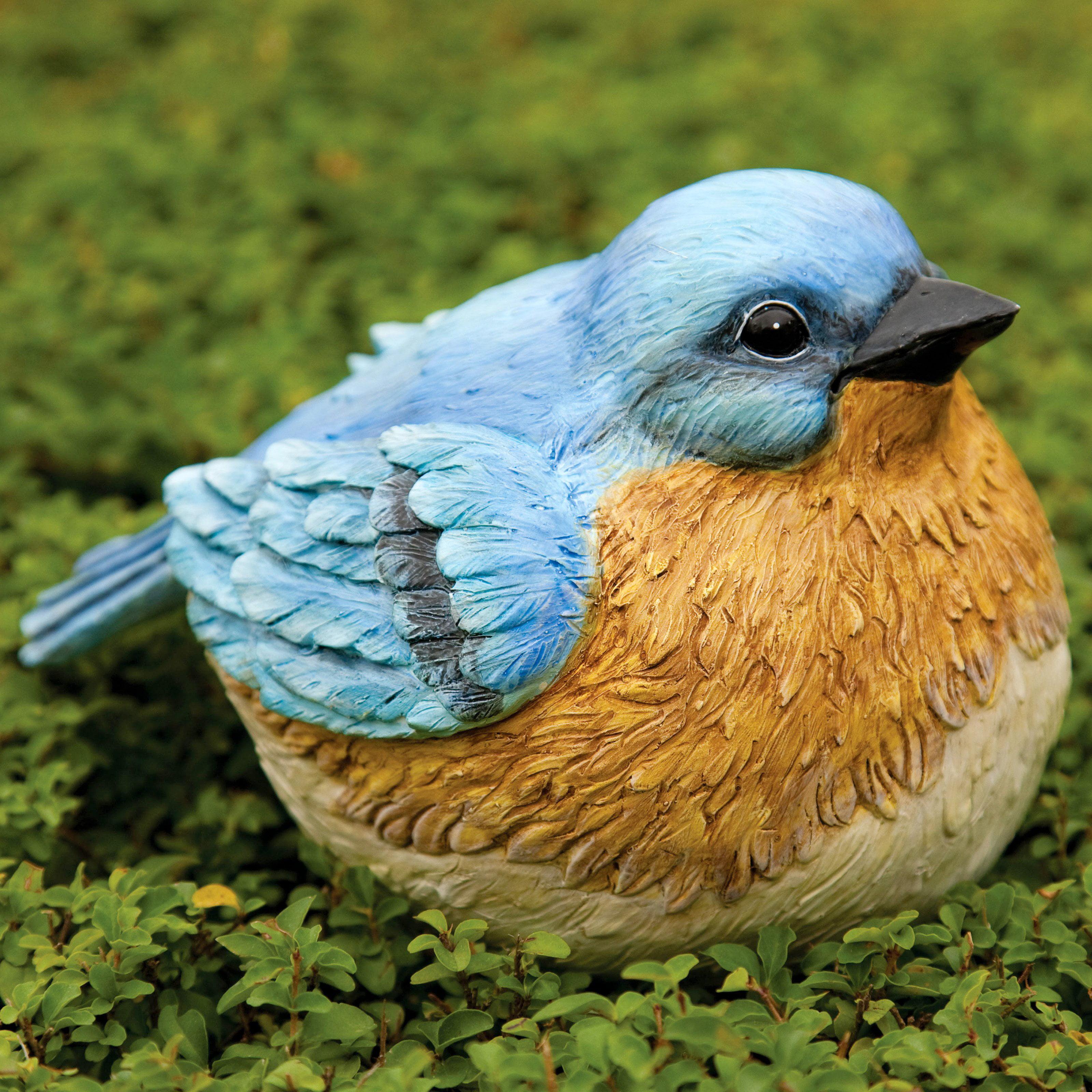 Evergreen Enterprises Bluebird Portly Garden Statue by EVERGREEN ENTERPRISES