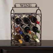 Cape Craftsmen Vintage 9 Bottle Wine Rack