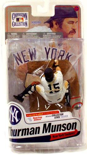 Thurman Munson Action Figure Pinstripes MLB by