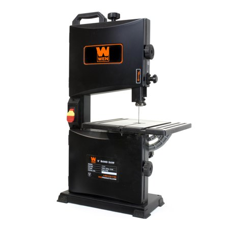 WEN 2.8-Amp 9-Inch Benchtop Band Saw, 3939 1 Phase Horizontal Band Saw