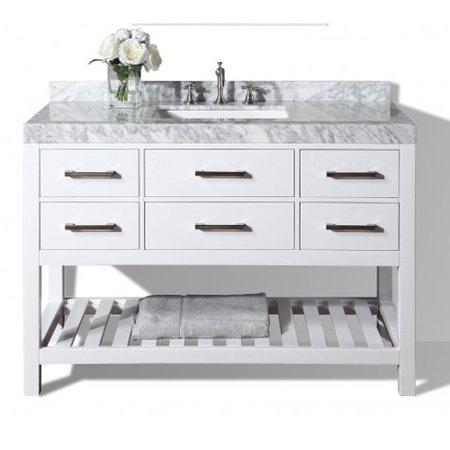 Outstanding Mercer41 Jauss 48 Single Bathroom Vanity Set Walmart Com Interior Design Ideas Pimpapslepicentreinfo
