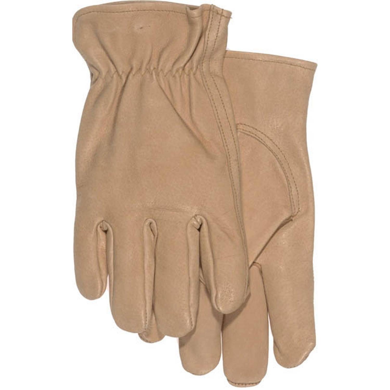 Boss Gloves 4052L Men's Large Premium Split Pigskin Driver Gloves