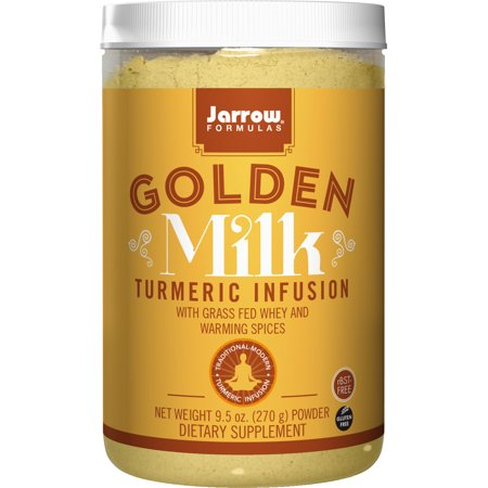 Jarrow Formulas Golden Milk, With Grass Fed Whey and Warming Spices, 9.5 Ounce