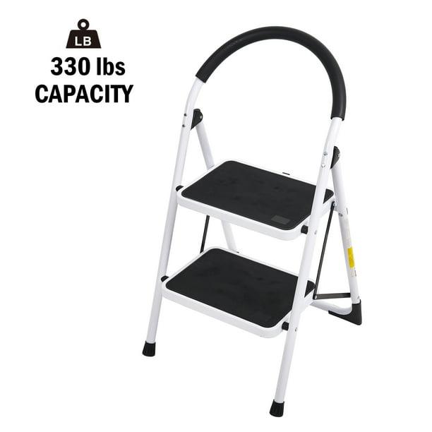 Karmas Product Folding Step Ladder 2 Step Anti Slip Step