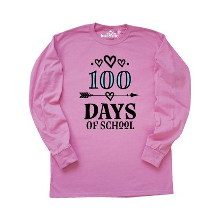 100 Days Of School 100th Day Party Long Sleeve T-Shirt](100th Day Shirt Ideas)