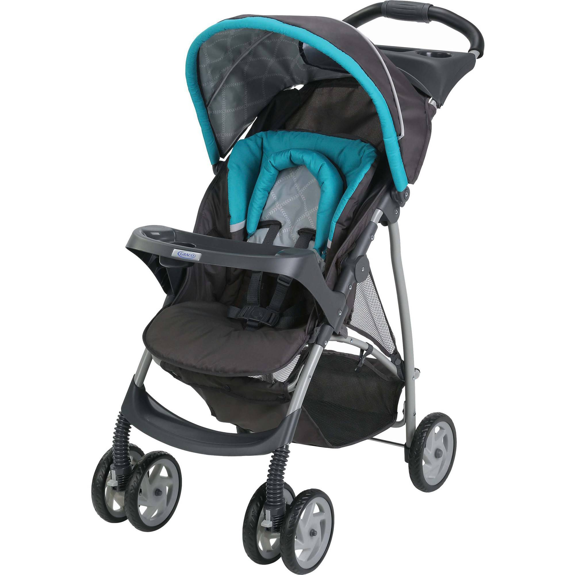 Graco LiteRider Click Connect Lightweight Stroller, Finch