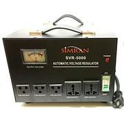 Simran Voltage Transformer Power Converter Regulator Stabilizer Power Converter Black (SVR-5000)