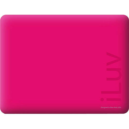 iLuv Silicone Case for iPad, Pink (ICC801PK)