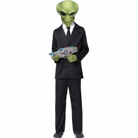 Alien Agent Child Halloween Costume