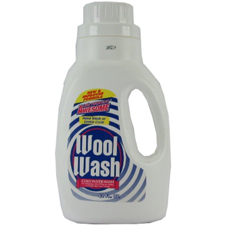New 314511  Awesome Wool Wash Cold Water Wash 42 Oz (12-Pack) Laundry Detergent Cheap Wholesale Discount Bulk Cleaning Laundry Detergent Fashion Accessories Biokleen Cold Water