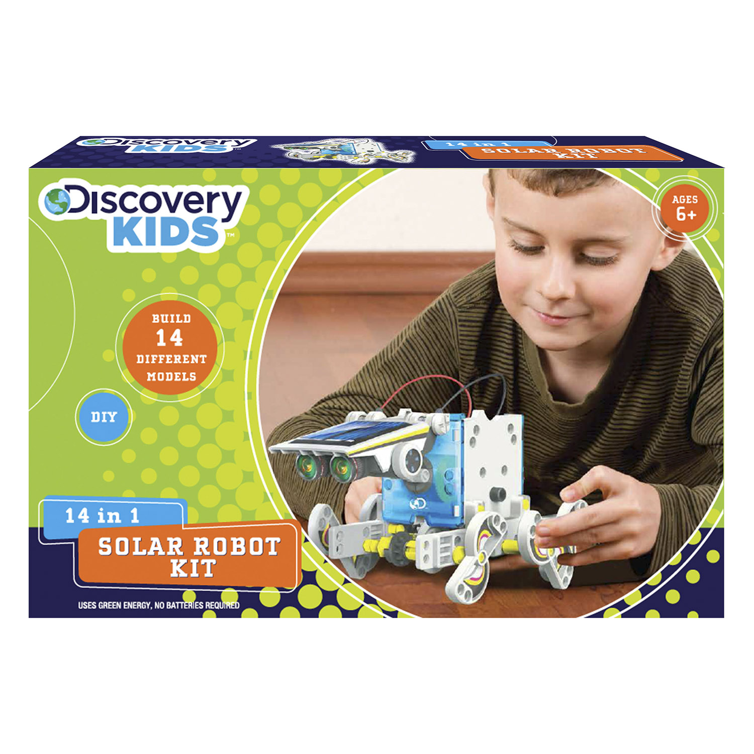 Discovery Kids 14-in-1 Solar Robot Kit
