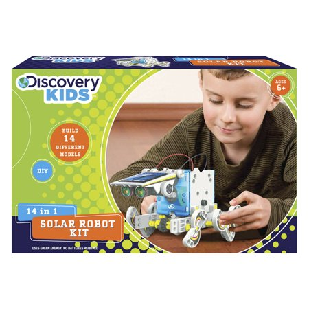 Discovery kids 14 in 1 solar powered robot kit diy 14 different discovery kids 14 in 1 solar powered robot kit diy 14 different models solutioingenieria Gallery
