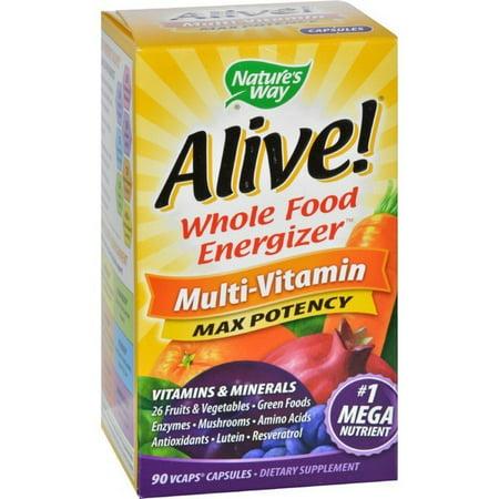 Natures Way Alive Multi Vitamin   90 Vcaps